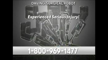 Parilman & Associates TV Spot, 'DaVinci Surgical Robot'