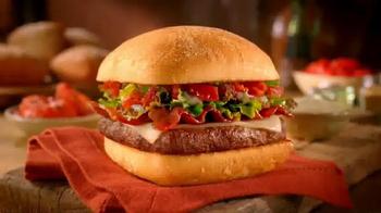 Wendy's Ciabatta Bacon Cheeseburger TV Spot - Thumbnail 8