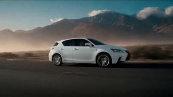 2014 Lexus CT Hybrid TV Spot, 'Live a Full Life' Song by Nick Waterhouse - Thumbnail 5