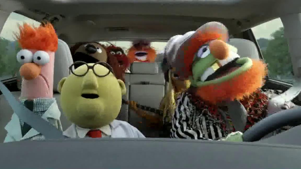 Toyota TV Commercial, 'No Room for Boring' Featuring The Muppets