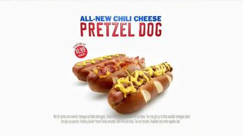 Sonic Drive-In Chili Cheese Pretzel Dog TV Spot , 'Merger' - Thumbnail 10