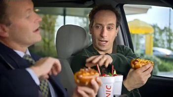 Sonic Drive-In Chili Cheese Pretzel Dog TV Spot , 'Merger' - Thumbnail 3