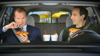 Sonic Drive-In Chili Cheese Pretzel Dog TV Spot , 'Merger' - Thumbnail 4