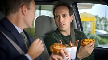 Sonic Drive-In Chili Cheese Pretzel Dog TV Spot , 'Merger' - Thumbnail 7