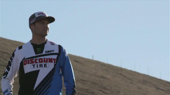 Discount Tire TV Spot, 'Motocross' Featuring Chad Reed - Thumbnail 1