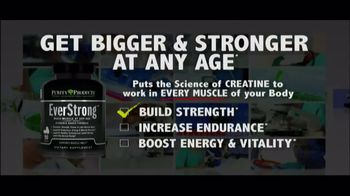 Purity Products Pure Creatine TV Spot, 'Building Muscle After 40'