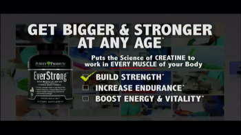 Purity Products Pure Creatine TV Spot, 'Building Muscle After 40' - Thumbnail 3