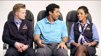 Alaska Airlines TV Spot, 'Chief Football Officer' Featuring Russell Wilson - 87 commercial airings