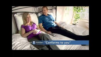 Sleep Number TV Spot, \'Conforms to You\'
