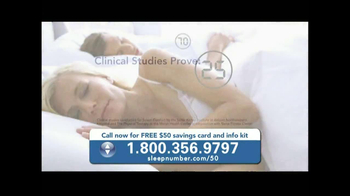 Sleep Number TV Spot, 'Conforms to You' - Thumbnail 6