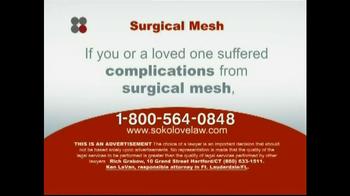 Sokolove Law TV Spot 'Surgical Mesh' - Thumbnail 6