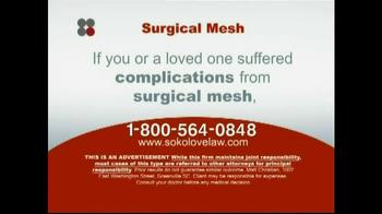 Sokolove Law TV Spot 'Surgical Mesh' - Thumbnail 7