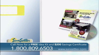 SunSetter TV Spot, 'Too Hot' Featuring Joan Steffend - Thumbnail 10