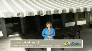 SunSetter TV Spot, 'Too Hot' Featuring Joan Steffend - Thumbnail 2