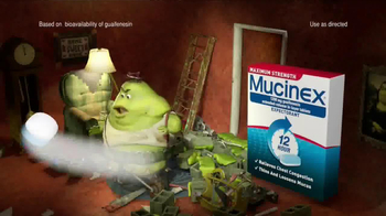 Mucinex 12-Hour TV Spot, 'Home Security' - Thumbnail 6