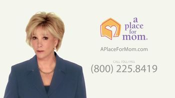 A Place For Mom TV Spot, 'New Home' Featuring Joan Lunden