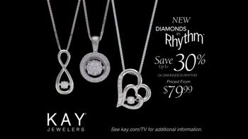Kay Jewelers Diamonds in Rhythm TV Spot, 'Look Up: Save 30%' - Thumbnail 10