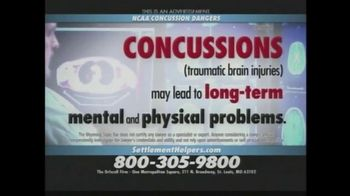 The Driscoll Firm TV Spot, 'NCAA Concussions'