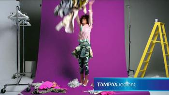 Tampax Radiant TV Spot, 'Wardrobe' Featuring Christina Caradona - Thumbnail 10