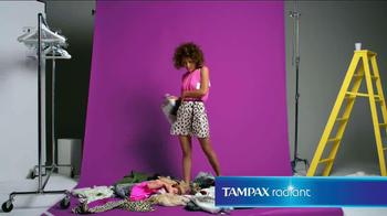 Tampax Radiant TV Spot, 'Wardrobe' Featuring Christina Caradona - Thumbnail 3
