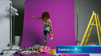 Tampax Radiant TV Spot, 'Wardrobe' Featuring Christina Caradona - Thumbnail 4