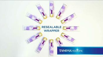 Tampax Radiant TV Spot, 'Wardrobe' Featuring Christina Caradona - Thumbnail 8