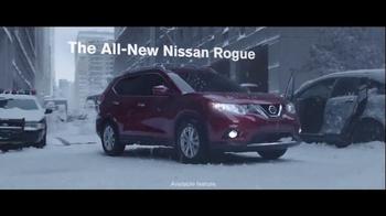 2014 Nissan Rogue TV Spot, 'Winter Warrior' - Thumbnail 9