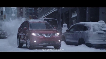 2014 Nissan Rogue TV Spot, 'Winter Warrior'