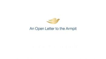 Dove Advanced Care TV Spot, 'An Open Letter to the Armpit' - Thumbnail 1