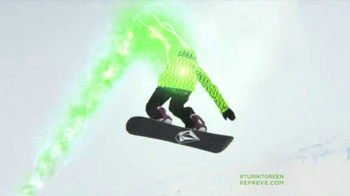 Repreve TV Spot, 'Turn It Green' Featuring Elena Hight - Thumbnail 8