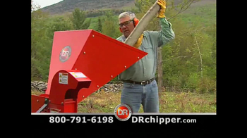 DR Power Equipment Rapid Feed Chipper TV Spot, 'Mother Nature'