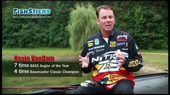 FishSticks Lure Enhancer TV Spot Feasting Kevin Vandam - Thumbnail 2