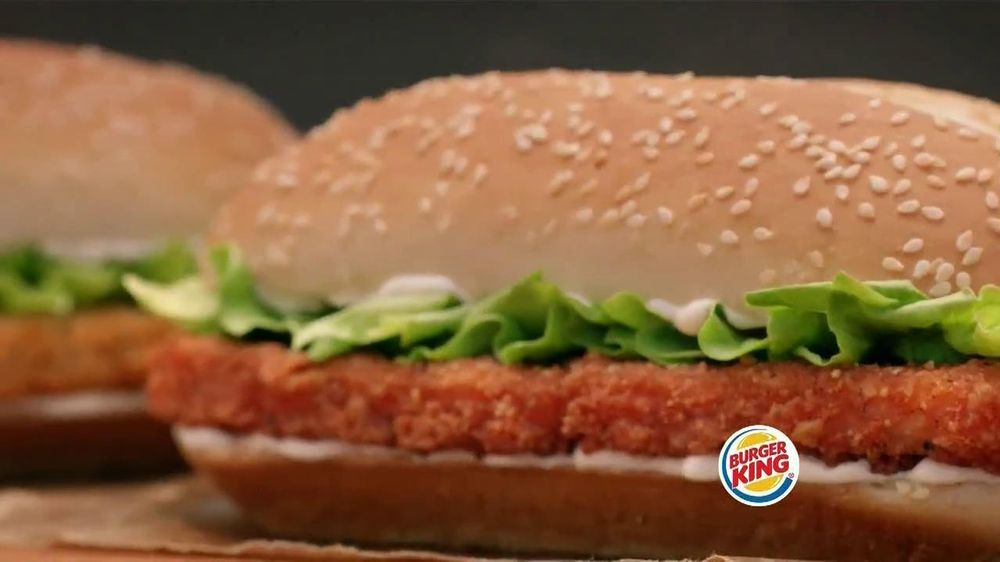 Burger King Spicy Chicken Sandwich TV Commercial 2 For 5 Spicier