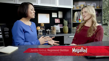 Mega Red Omega-3 Krill Oil TV Spot, 'Heart Health Beat' - Thumbnail 8