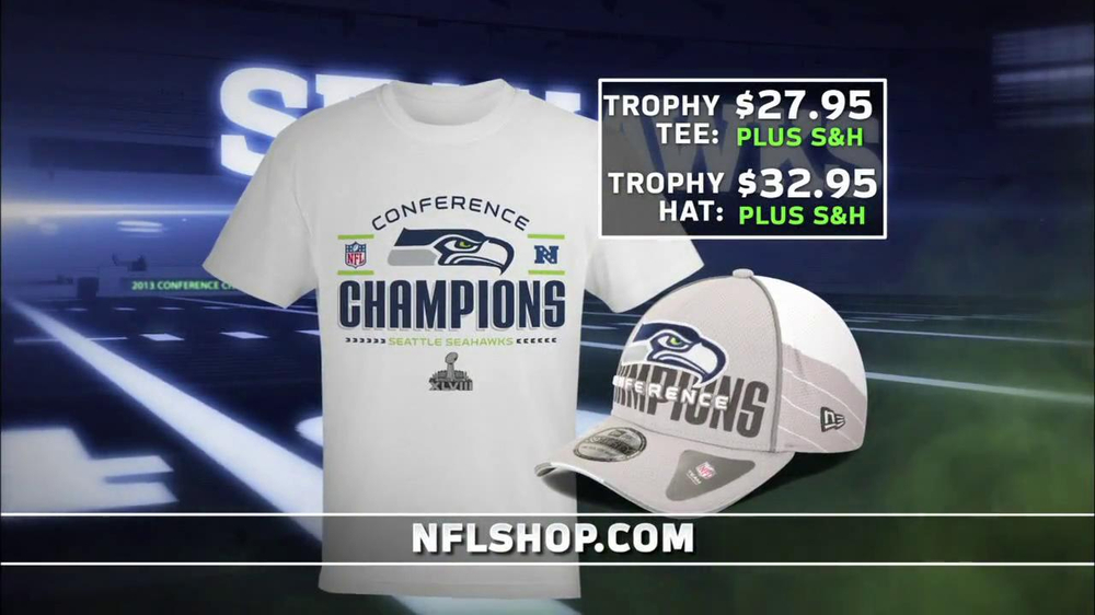 info for 80440 a68c1 NFL Shop Seahawks Conference Champions Gear TV Commercial, 'NFC Champions'  - Video