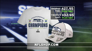 NFL Shop Seahawks Conference Champions Gear TV Spot, 'NFC Champions' - 17 commercial airings