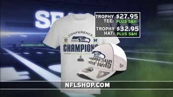 NFL Shop Seahawks Conference Champions Gear TV Spot, 'NFC Champions' - Thumbnail 9