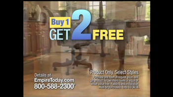 Empire Today TV Spot, 'Buy One, Get Two Free: Stories'