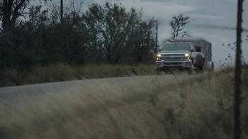 Chevrolet Silverado Super Bowl 2014 TV Spot, 'Romance' - Thumbnail 8