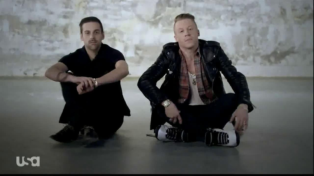 USA Network TV Commercial, 'Characters Unite' Feat. Macklemore and Ryan Lewis