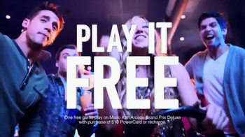 Dave and Buster's Eat and Play Combo TV Spot, 'Have Fun' - Thumbnail 6