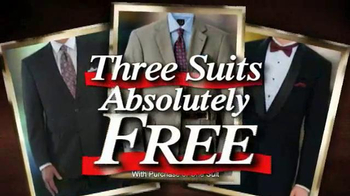 JoS. A. Bank TV Spot, 'January 2014 BOG3 Suits' - Thumbnail 1