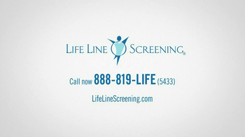 Life Line Screening TV Spot, 'Determine Your Risks' - Thumbnail 6