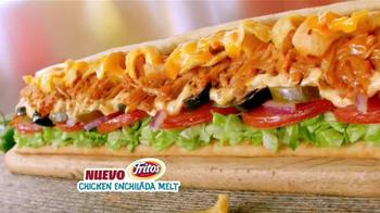 Subway Fritos Chicken Enchildada Melt TV Spot [Spanish] - Thumbnail 6