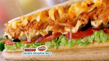 Subway Fritos Chicken Enchildada Melt TV Spot [Spanish] - Thumbnail 7