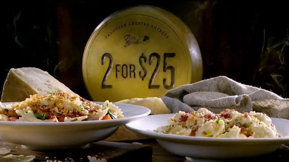 Olive Garden 2 for $25 TV Spot