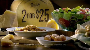 Olive Garden 2 for $25 TV Spot - Thumbnail 9