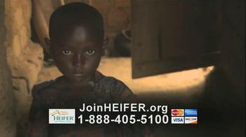 Heifer International TV Spot, 'Hunger' - Thumbnail 9
