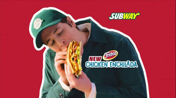 Subway Fritos Chicken Enchilada Melt TV Spot, 'Gotta Have It Crunch' - Thumbnail 2