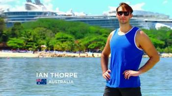 Royal Caribbean Cruise Lines TV Spot Ft. Gabby Douglas, Ian Thorpe - Thumbnail 8